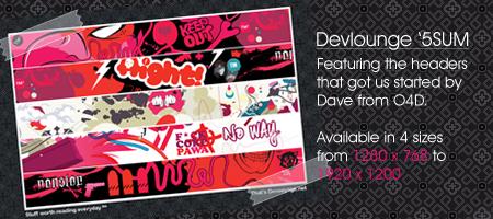 Devlounge 5sum Wallpaper Pack