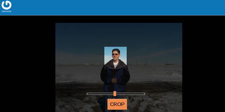 Gravatar Public Beta - Cropping Tool