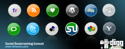 Social Bookmarking Icon 1