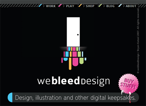 We Bleed Design by Bryan Katzel