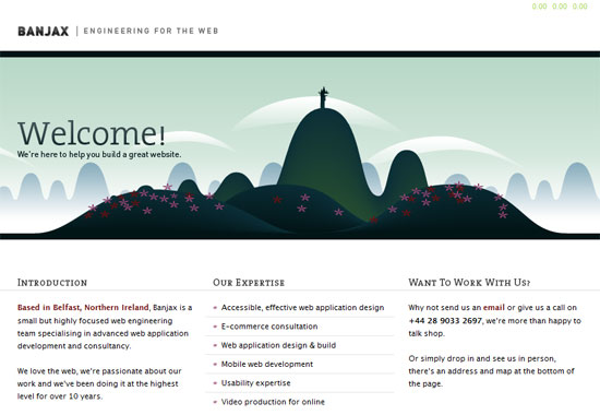 Banjax Web Design