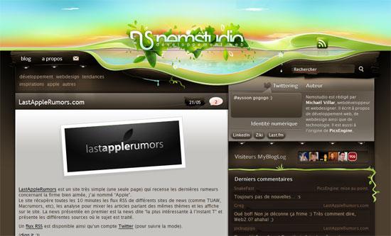 Blog développement Web