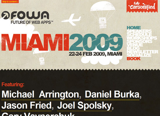 Future of Web Apps - Miami 2009