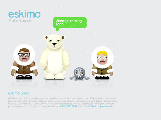 ESKIMO promotional products