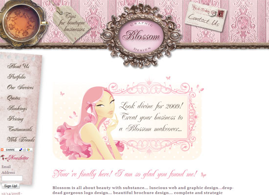 Blossom Graphic and Web Design