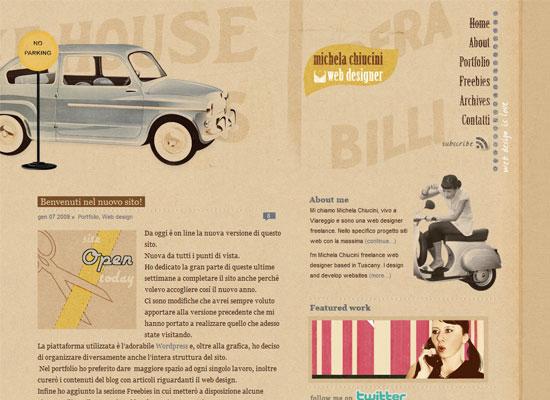 Web Designer Michela Chiucini - creazione siti web Viareggio