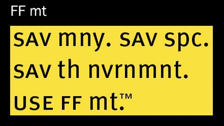FF mt font