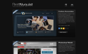 Digital Web Portfolio of Brett Nyquist