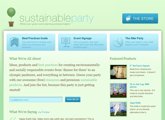 Sustainable Party