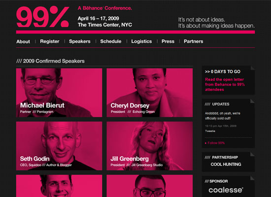 The 99% Conference from Behance