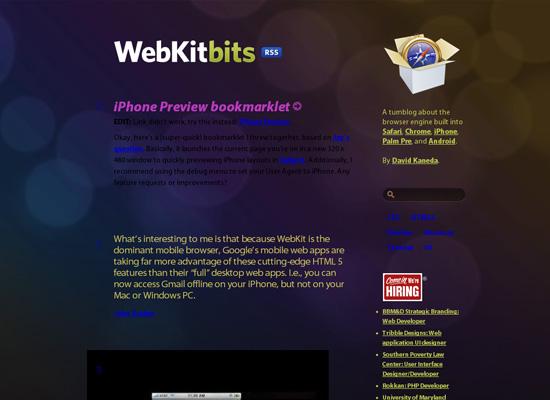 WebKitBits