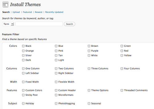 Wordpress Theme Installer
