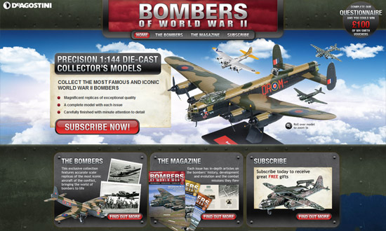 Deagostini Bombers of World War II