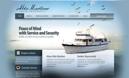 Able Maritime Yacht Insurance