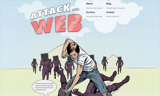 Attack of the Web