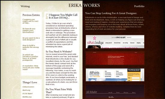 Erika Works