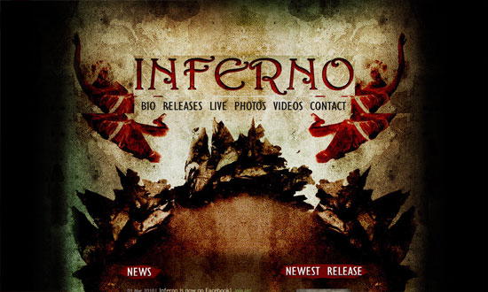Inferno Band from Cyprus