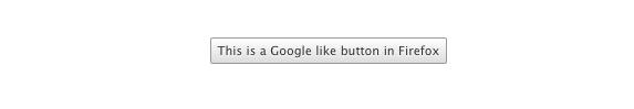 CSS Google Button