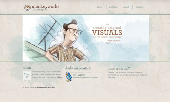 Monkeyworks Illustration