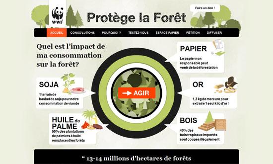 Protège la forêt - WWF
