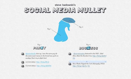 Social Media Mullet