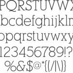 The Skinny: 16 Thin, Fabulous & Free Fonts