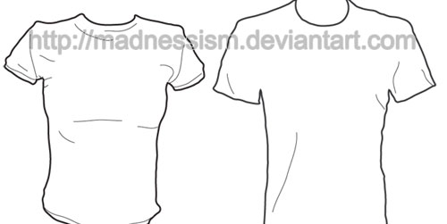 12 Unique T-Shirt Templates To Download For Free - Devlounge