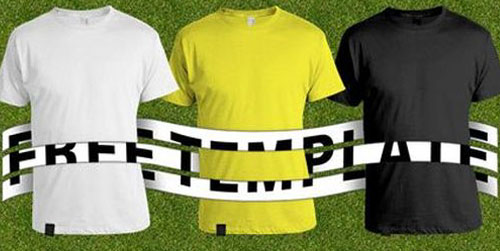American Apparel T Shirt Template