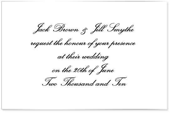 Fonts For Wedding Invitations 19 Inspirational If