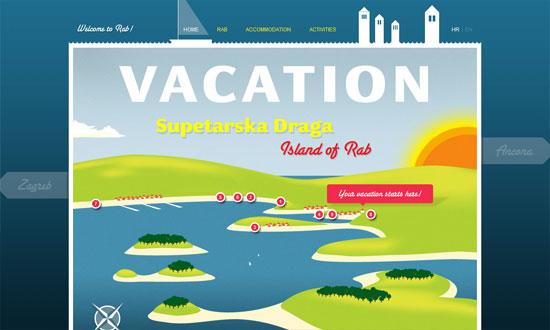 Vacation in Supetarska Draga on island of Rab
