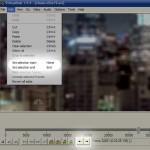 Set Selection Start/ End in VirtualDub
