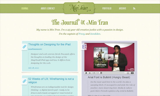Min Tran's Journal