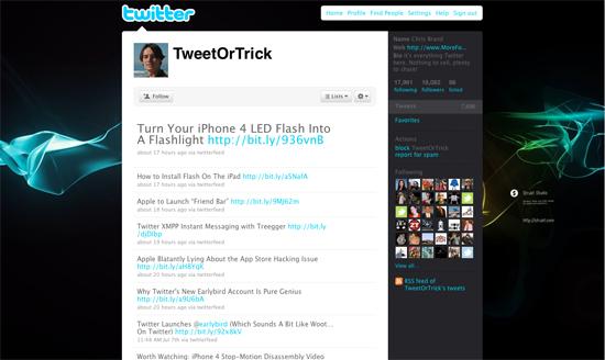 tweetortrick