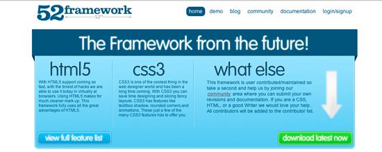 HTML5 & CSS3 Framework