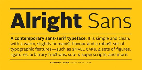 Minimalist Fonts