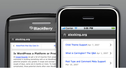 WordPress Mobile