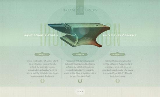 Iron to Iron