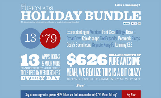 Fusion Ads Holiday Bundle