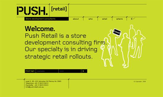 push retail