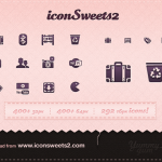 10 Free Icons Set for your Website
