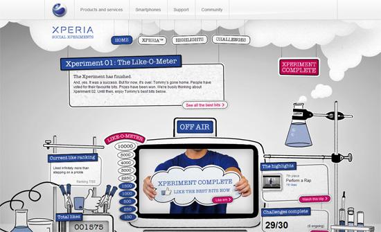 Xperia™ Social Xperiments