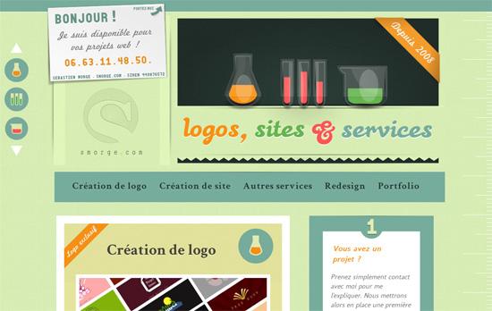 Création de logo et de site web