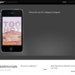 6 WordPress Themes for iPhone Apps