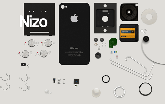Nizo for iPhone website