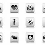Icons and Grunge Fonts