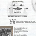 Cantilever Fish & Chips website