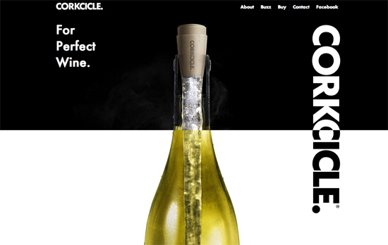 Corkcicle website