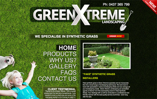 Green Xtreme website