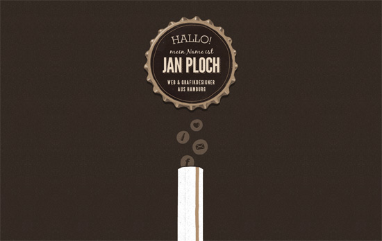 Online Portfolio von Jan Ploch website