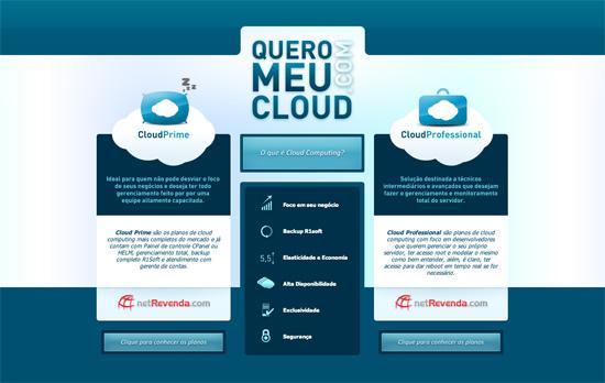 Quero Meu Cloud website